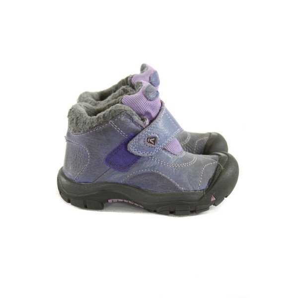 KEEN BLUE AND PURPLE SHOES *SIZE TODDLER 9, GUC - DISCOLORATION AND AND WEAR