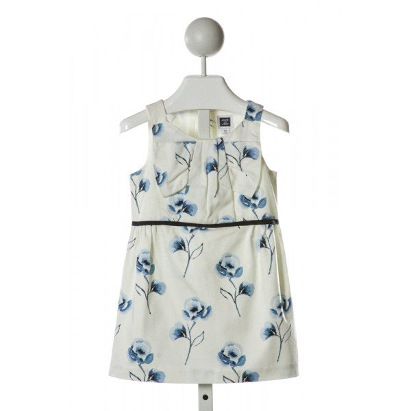 JANIE AND JACK  IVORY  FLORAL  PARTY DRESS