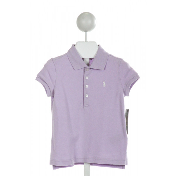 RALPH LAUREN  PURPLE    CLOTH SS SHIRT