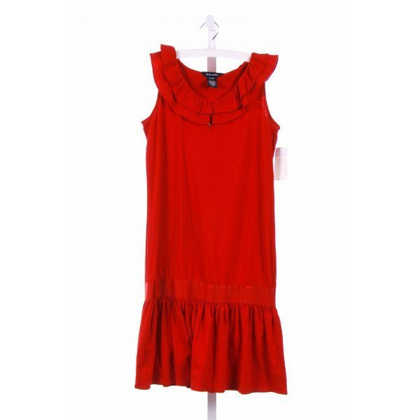 RALPH LAUREN  RED    CASUAL DRESS