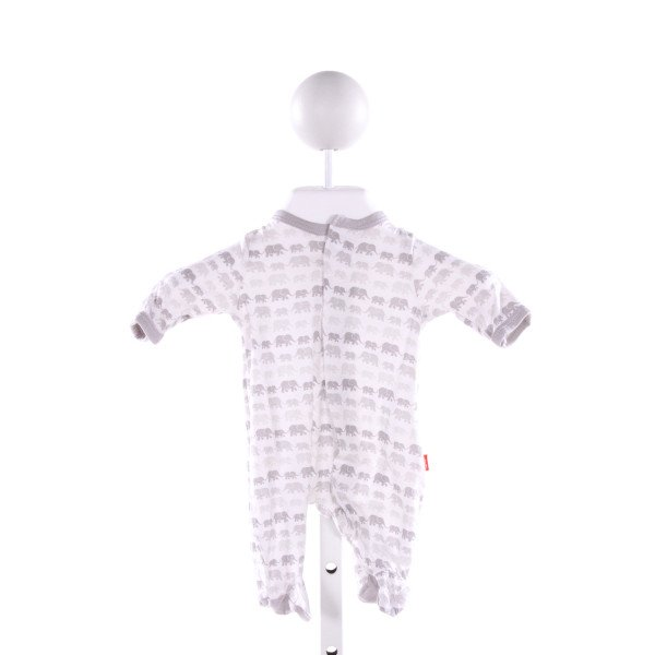 MAGNIFICENT BABY  GRAY   PRINTED DESIGN LAYETTE