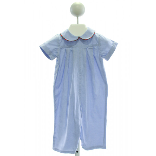 BAILEY BOYS  LT BLUE    ROMPER