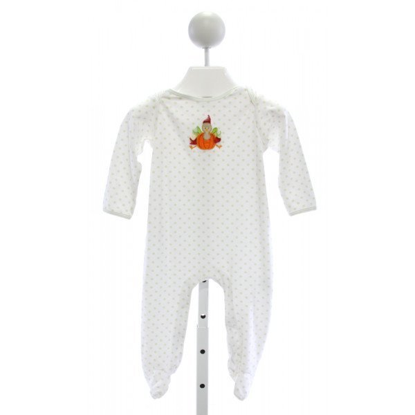 MAGNOLIA BABY  IVORY  POLKA DOT EMBROIDERED LAYETTE