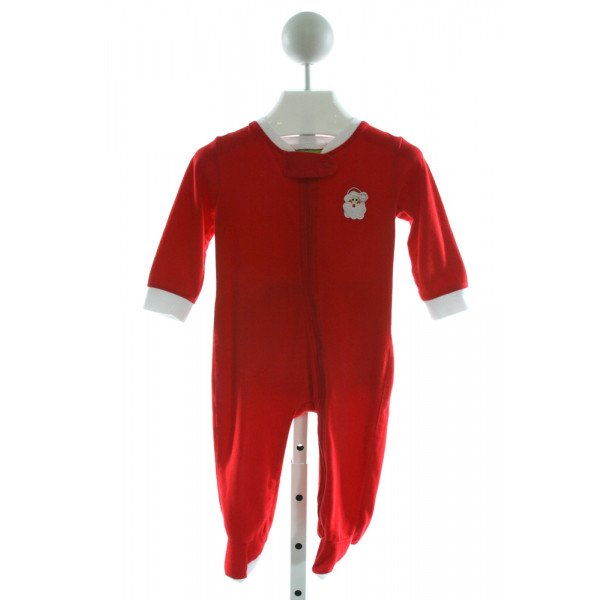 CLASSIC WHIMSY  RED   EMBROIDERED LAYETTE