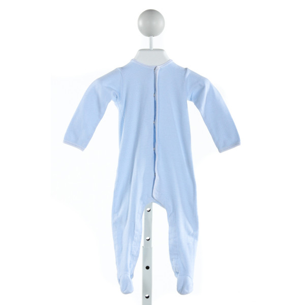 MAGNOLIA BABY  LT BLUE  STRIPED  LAYETTE