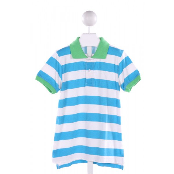 KELLY'S KIDS  MULTI-COLOR  STRIPED  KNIT SS SHIRT