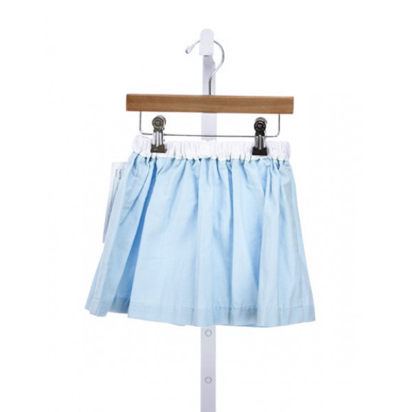 ALICE KATHLEEN MACY SKIRT IN LT BLUE CORD