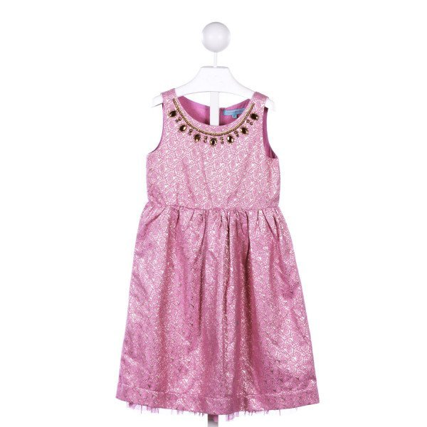 CUPCAKES & PASTRIES  PURPLE  PRINT  PARTY DRESS