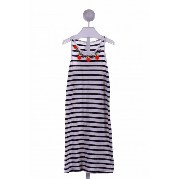 CREWCUTS FACTORY  NAVY  STRIPED  CASUAL DRESS