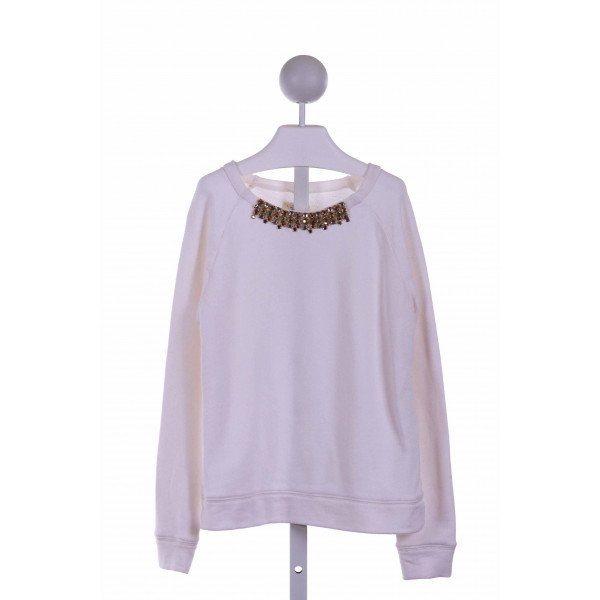 CREWCUTS FACTORY  CREAM    KNIT LS SHIRT