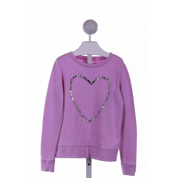 CREWCUTS FACTORY  PURPLE    KNIT LS SHIRT