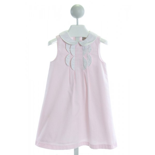 DARCY BROWN   LT PINK    DRESS
