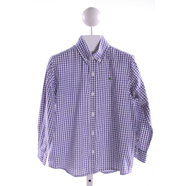 J. BAILEY  ROYAL BLUE  GINGHAM  CLOTH LS SHIRT