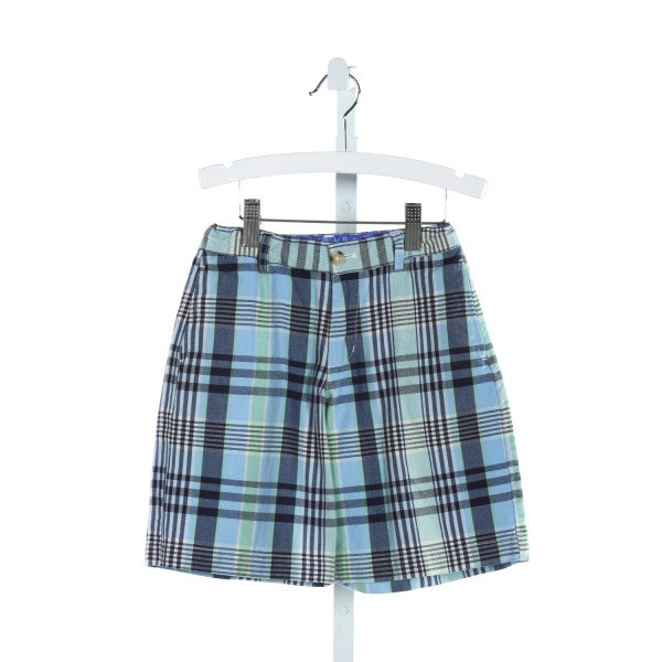J. BAILEY  LT BLUE  PLAID  SHORTS