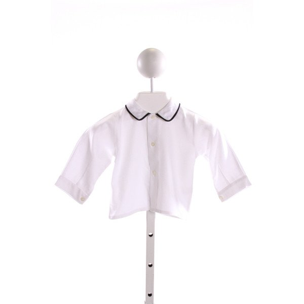 M. FERRARI  WHITE    CLOTH LS SHIRT