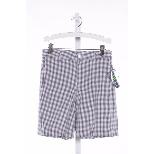 COTTON BLU  NAVY  GINGHAM  SHORTS