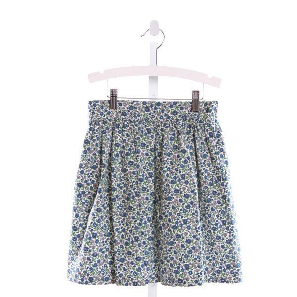 KAYCE HUGHES  MULTI-COLOR  FLORAL  SKIRT
