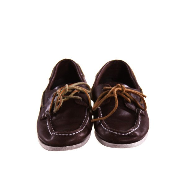 SPERRY BROWN LOAFER *APPROX SIZE 1.5, VGU - EXTREMELY LIGHT WEAR