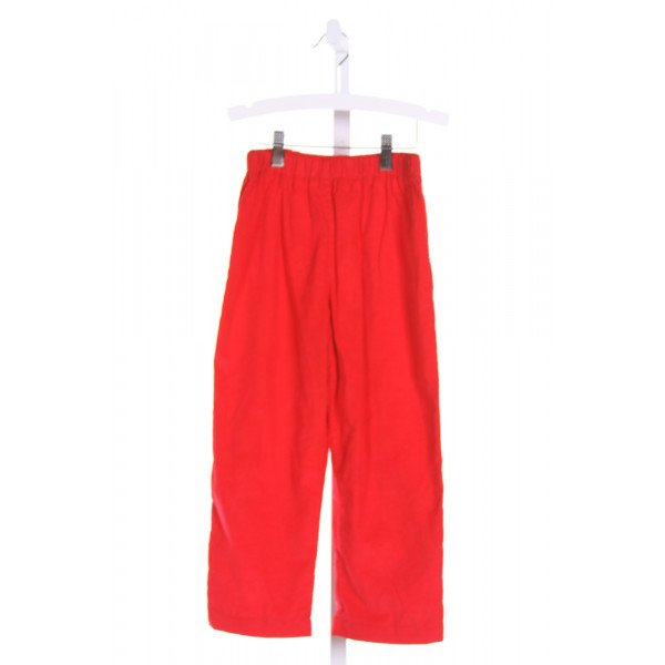 MARY & GRACE  RED CORDUROY   PANTS (B)