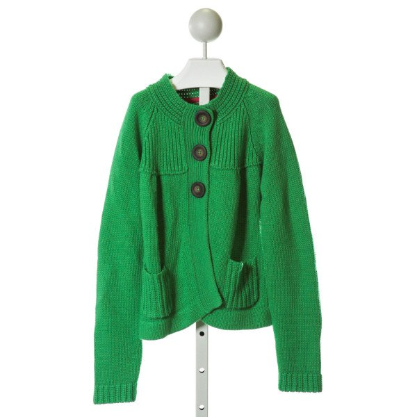 MINI BODEN  GREEN    SWEATER (K)