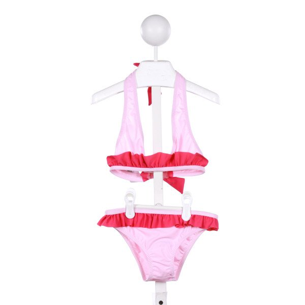 EBERJEY  PINK    2-PIECE SWIMSUIT WITH RUFFLE