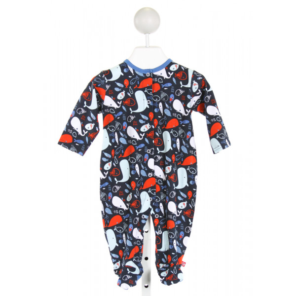 ZUTANO  NAVY   PRINTED DESIGN LAYETTE