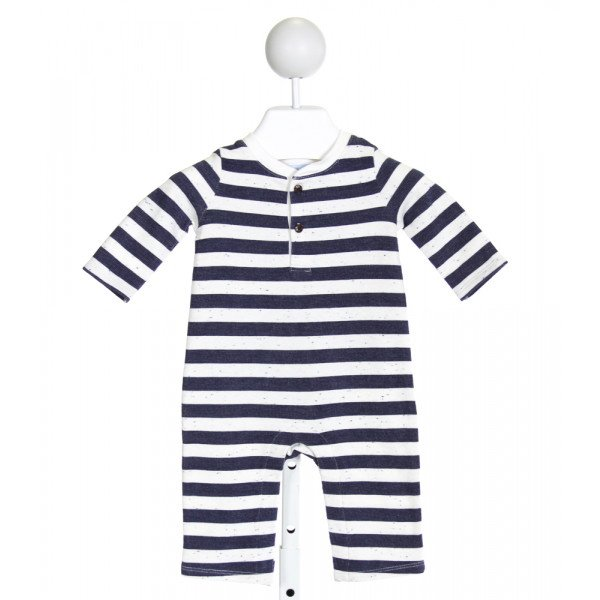 JANIE AND JACK  BLUE  STRIPED  LAYETTE
