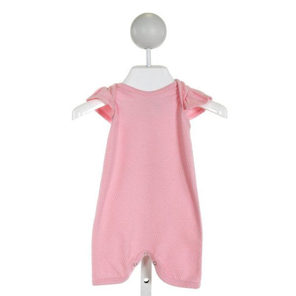EMERALD AUGUST  LT PINK    LAYETTE WITH RUFFLE
