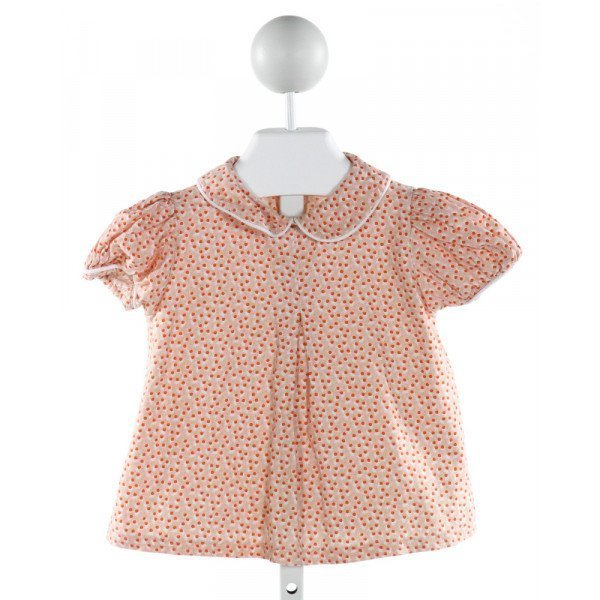 LITTLE LAUNDRY  PINK  FLORAL  CLOTH SS SHIRT