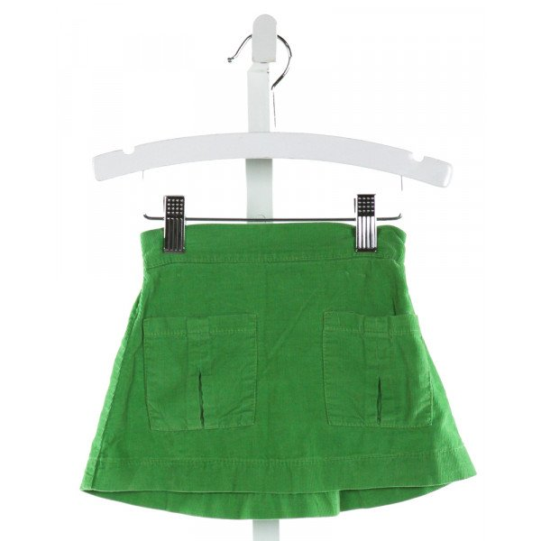 PEARS & BEARS  GREEN CORDUROY   SKIRT