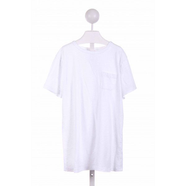 CREWCUTS FACTORY  WHITE    KNIT SS SHIRT