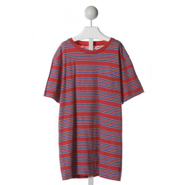 CREWCUTS  RED  STRIPED  KNIT DRESS
