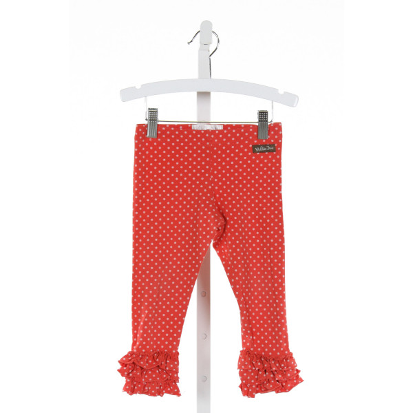 MATILDA JANE  PINK  POLKA DOT  PANTS WITH RUFFLE