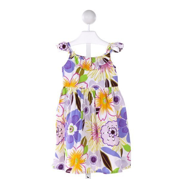 WILLOUGHBY  MULTI-COLOR  FLORAL  DRESS WITH RUFFLE