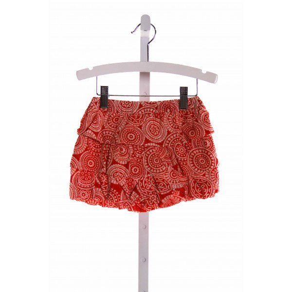 HANNAH KATE  MULTI-COLOR   PRINTED DESIGN SKORT WITH RUFFLE