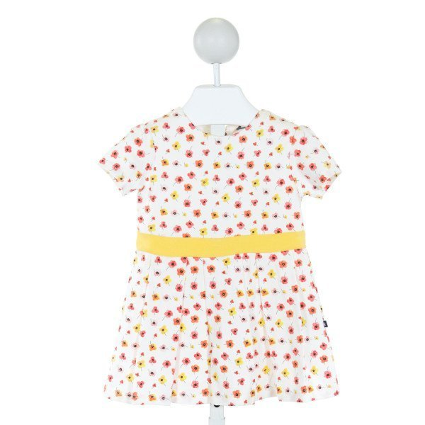 TOOBY DOO  OFF-WHITE  FLORAL  DRESS