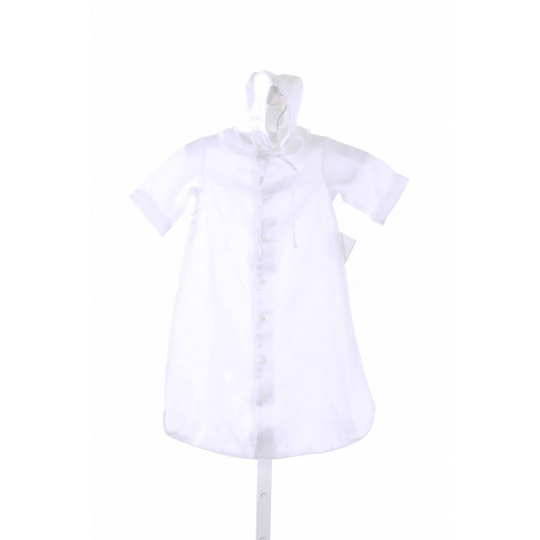 BAILEY BOYS  WHITE    2-PIECE OUTFIT WITH LACE TRIM