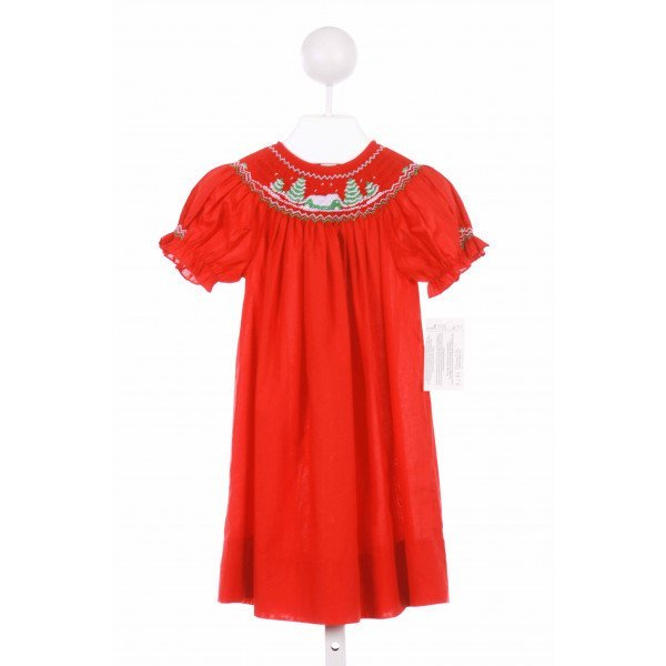 ROSALINA  RED    CASUAL DRESS