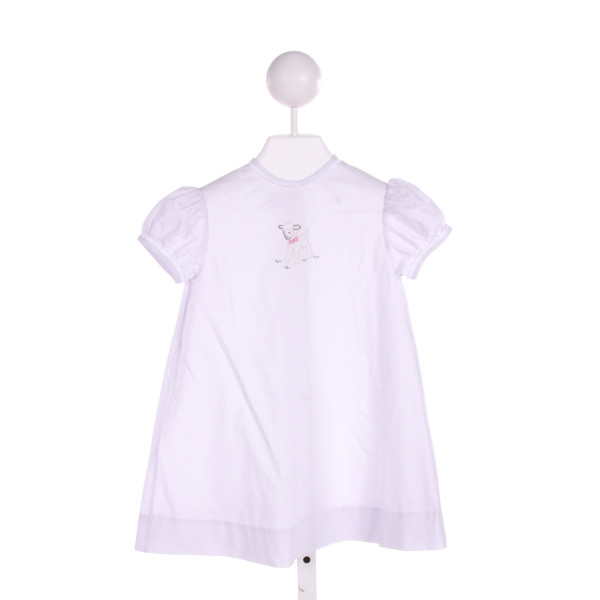 MARY & GRACE  LT PURPLE   EMBROIDERED DRESS