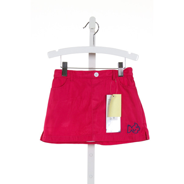 PRODOH  HOT PINK   EMBROIDERED SKORT