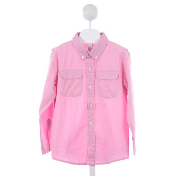 THREAD BLANKS PINK FISHING SHIRT