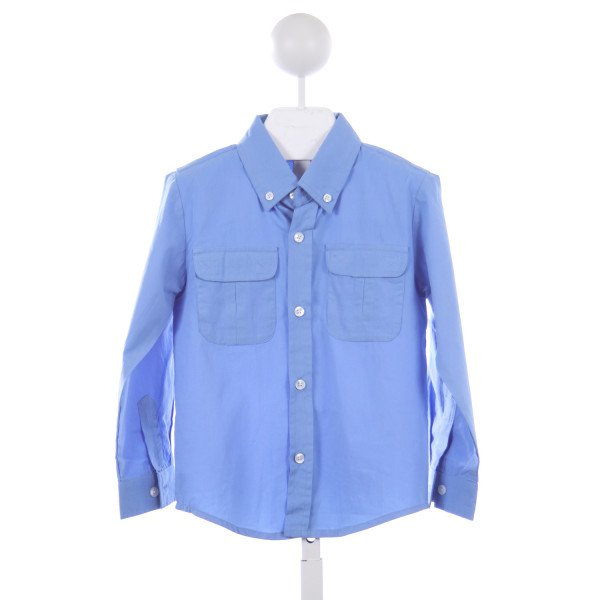 THREAD BLANKS BLUE FISHING SHIRT