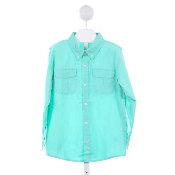THREAD BLANKS MINT FISHING SHIRT