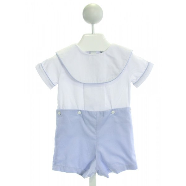SMOCKED THREADS CECIL & LOU  WHITE    JOHN JOHN/ SHORTALL