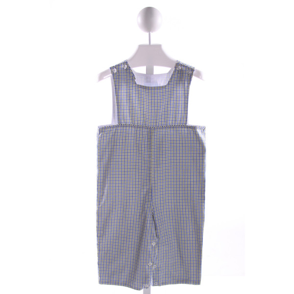 LITTLE ENGLISH  MULTI-COLOR  PLAID  LONGALL/ROMPER