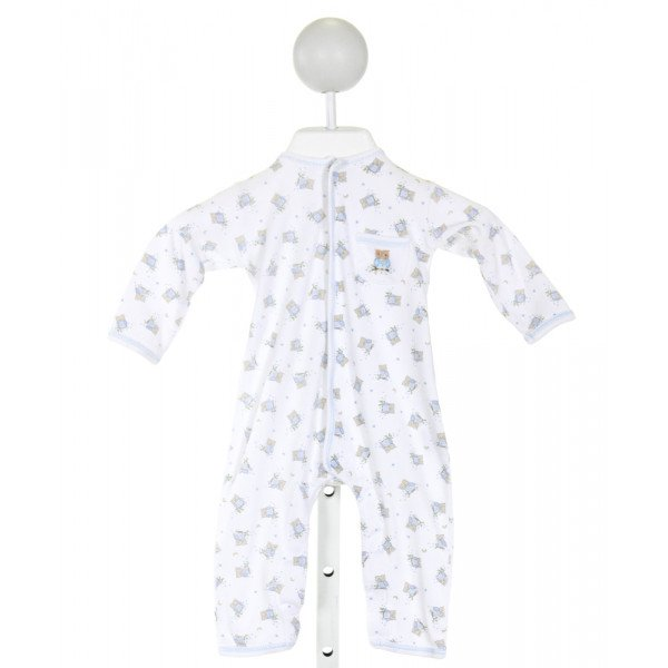 MAGNOLIA BABY  WHITE  PRINT EMBROIDERED LAYETTE