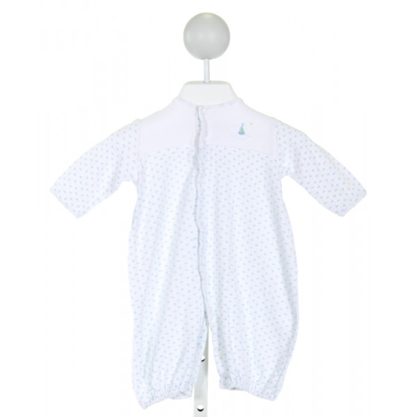 PETIT AMI  WHITE  PRINT EMBROIDERED LAYETTE