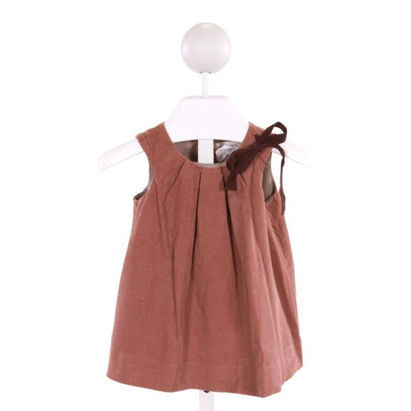BONPOINT  BROWN CORDUROY   DRESS
