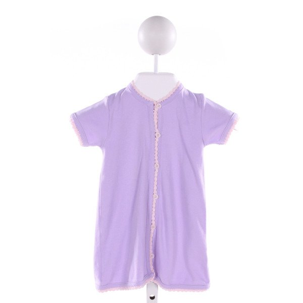 SQUIGGLES  PURPLE   EMBROIDERED LAYETTE
