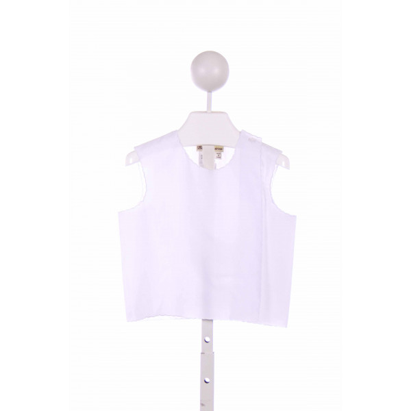 BABY BOUTROS  WHITE    CLOTH SS SHIRT